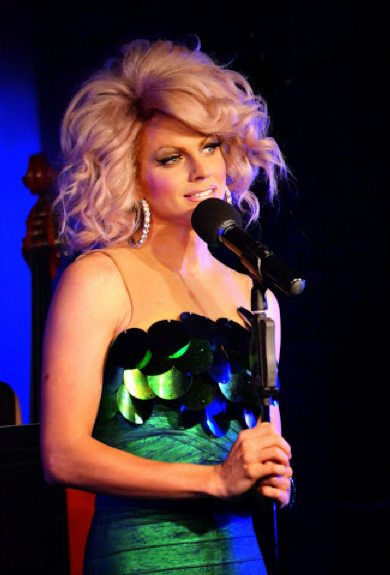 "Courtney Act in ""Boys Like Me."" Photo by Jason Russo."