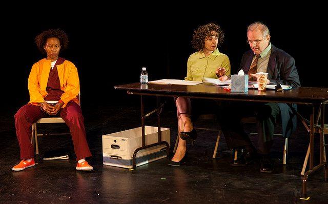 """Life Without Parole"" at FringeNYC. Photo courtesy Isaiah Tanenbaum Theatrical Photography."