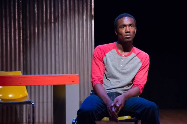 """Cornelius Franklin as Daniel in """"No One Asked Me"""" at FringeNYC."""