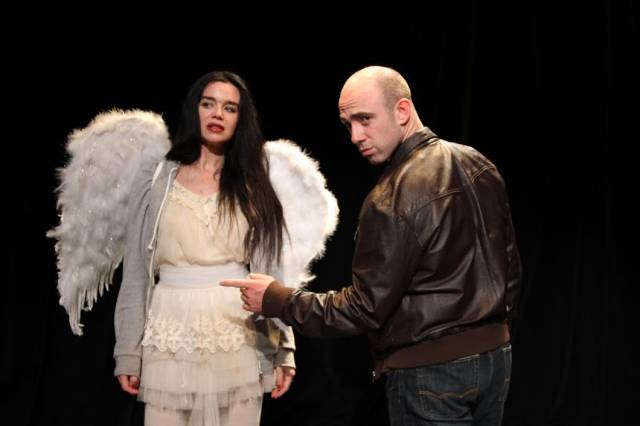 "Laoisa Sexton and Kevin Marron in ""The Last Days of Cleopatra.""  Photo Credit: Trevor Murphy / TrevorMurphy.tv"