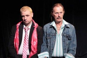 "Michael Mellamphy and Kenneth Ryan in ""The Last Days of Cleoptra."" Photo Credit: Trevor Murphy / TrevorMurphy.tv"