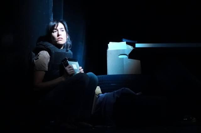 "Maria Peyramaure in ""Asi van..."" Photo by Bobby Plasencia."