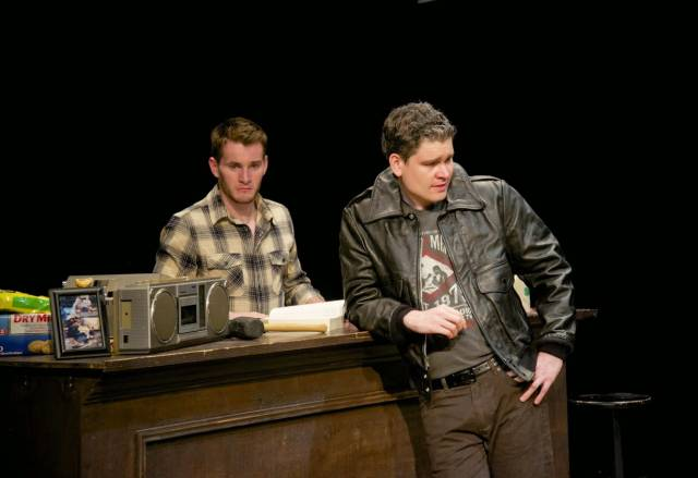 """Conor McIntyre and Paul Nugent in """"The McGowan Trilogy."""" Photo: Garlia C. Jones-Ly"""