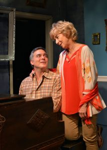 "Peter Davenport and Peggy J. Scott in ""It Has To Be You."" Photo by Kim T. Sharp."