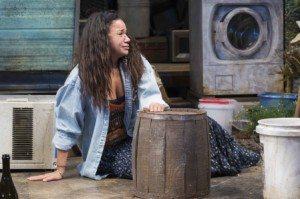 "Yvette Ganier in ""Pitbulls"".  Photo by Monica Simoes."