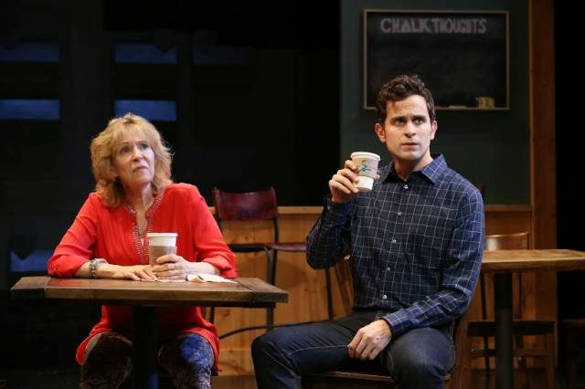 "Susan Greenhill and Matt Dellapina in ""Naperville."" Photo Credit:  Jeremy Daniel."