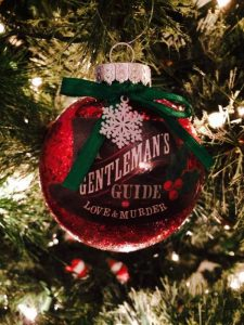 Gentleman's Guide to Love and Murder - holiday ornament Photo: Jeff Kready