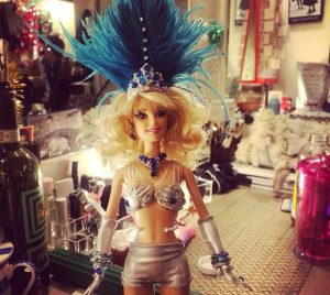 Katie Webber Doll made by Nancy Opel - Honeymoon in Vegas Photo: David Josefsberg