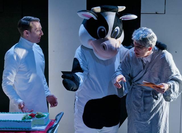Brent McBeth, Danny Gardner, and Joel Jeske in EVERYBODY GETS CAKE! © 2015 Jim R Moore/Vaudevisuals