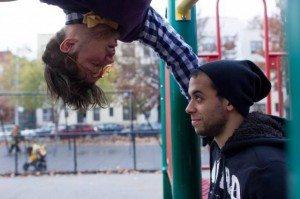 Jesse Geguzis and Jordan Tierney. Photo by Kacey Stamats.