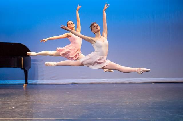 Rondo - choreography by Jerome Robbins. Photo by Darial Sneed.