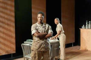 Rehana Lew Mirza's latest play Soldier X explores the effects of war on society.  Photo credit: Web Begole.