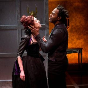 Kelley Curran and Clifton Duncan in 'Tis Pity She's a Whore. Photo credit: Richard Termine