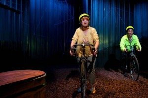 Annie Golden and Daniel K. Isaac in UNDERLAND at 59E59 Theaters. Photo by Hunter Canning