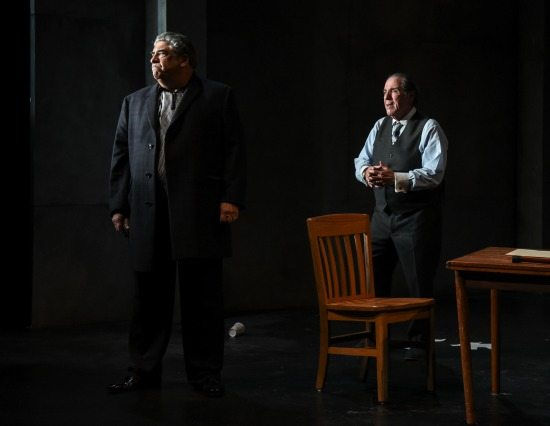 Vincent Pastore and David Proval in A Queen for a Day. Photo by Russ Rowland.
