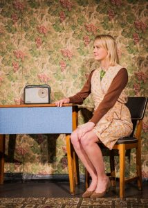Eve Burley in Anthony Burgess' One Hand Clapping. Photo by Emma Phillipson.
