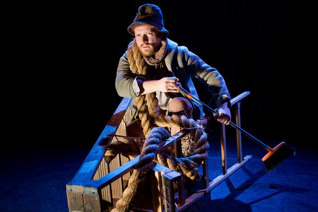 "Nathaniel Basch-Gould in ""Poor Sailor."" Photo credit: Hunter Canning."