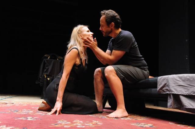 "Pamela J. Gray and Alex Draper in ""Judith."" Photo credit: Stan Barouh"