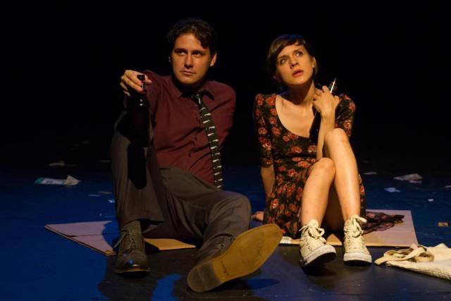 "Thomas Wood and Rachael Balcanoff in ""Liminal."" Photo: Jody Christopherson"