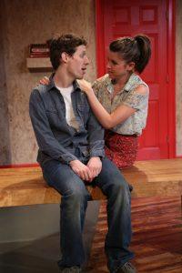 "Allison Linker and Ben Sumrall in ""Believers"". Photo by Gerry Goodstein."