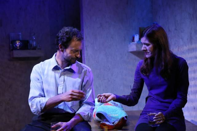 "Mary Lauren and Tony Travostino in ""Believers."" Photo by Gerry Goodstein."