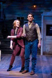 Kate Baldwin and Bob Stillman in SONGBIRD at 59E59 Theaters. Photo by Jenny Anderson Photography