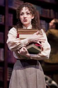 Megan McGinnis in Daddy Long Legs. Photo credit: Tim Fuller.