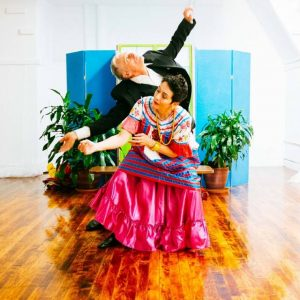 Mark DeGarmo and Marie Baker-Lee in 'Las Fridas'