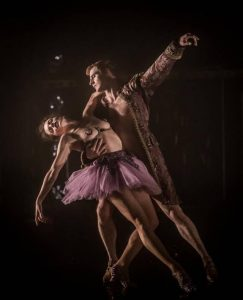 Laura Careless and Steven Trumon Gray in Nutcracker Rouge. Photo credit: Mark Shelby Perry.