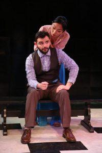 John Cosentino and Poppy Liu in The Gambler.