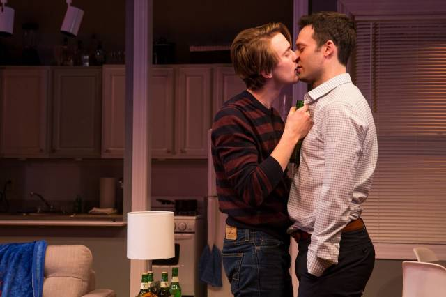 Thomas E. Sullivan and Jake Epstein in STRAIGHT. Photo credit: Matthew Murphy