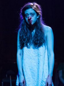 Kate Thulin in WOLF IN THE RIVER. Photo by Hunter Canning.