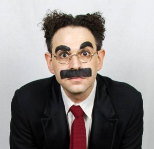 Noah Diamond as Groucho Marx 1B - Photo by Mark X Hopkins