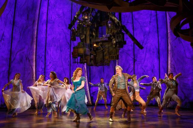 Carolee and Michael Park in Tuck Everlasting. Photo credit: Joan Marcus