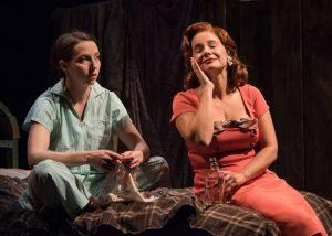 Rebekah Brockman and Rachel Botchan in A Taste of Honey. Photo credit: Russ Rowland.