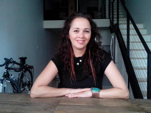Playwright Larissa FastHorse. NYC Oct 28, 2016 Photo by Saima Huq