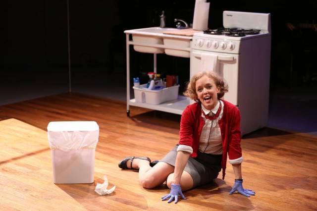 """Nancy Anderson in """"The Pen."""" Photo credit: Carol Rosegg."""