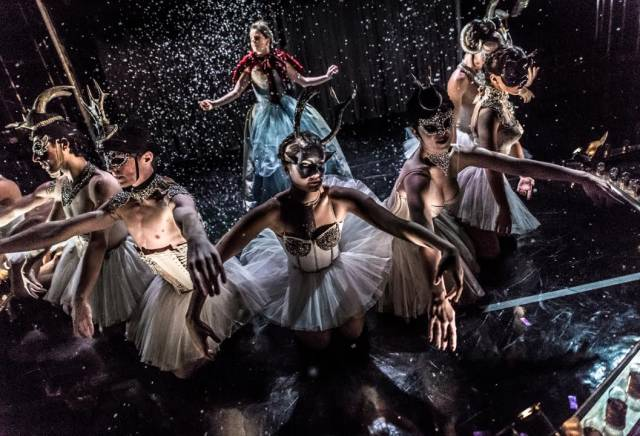Cast members of Nutcracker Rouge. Photo credit: Mark Shelby Perry