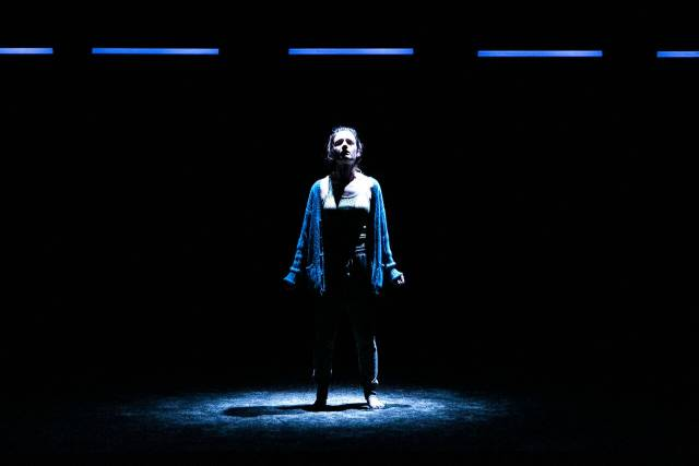 "Aoife Duffin in ""A Girl is a Half-Formed Thing"". Photo credit: Mihaela Bodlovic"