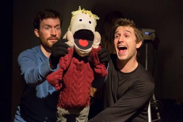 Kyle Schaefer & Nick Abeel in KEVIN!!!!! Photo credit: Hunter Canning