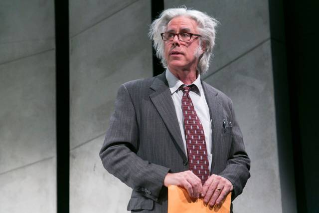 Jeff McCarthy stars as KUNSTLER at 59E59 Theaters. Photo by Heidi Bohnenkamp, 2017.