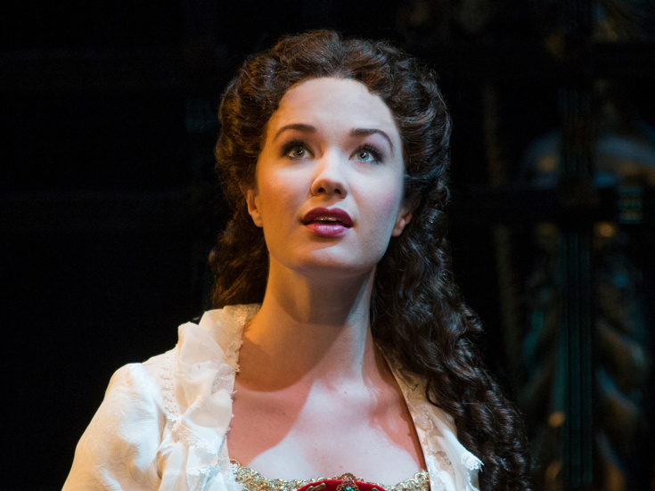 Sierra Boggess Christine In Phantom Of The Opera. Photo Credit: Matthew  Murphy.  Sierra Boggess Resume