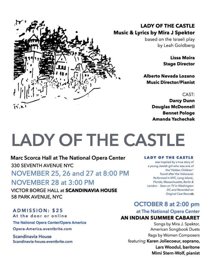 Lyric lyrics opera : Lady of the Castle - StageBuddy.com