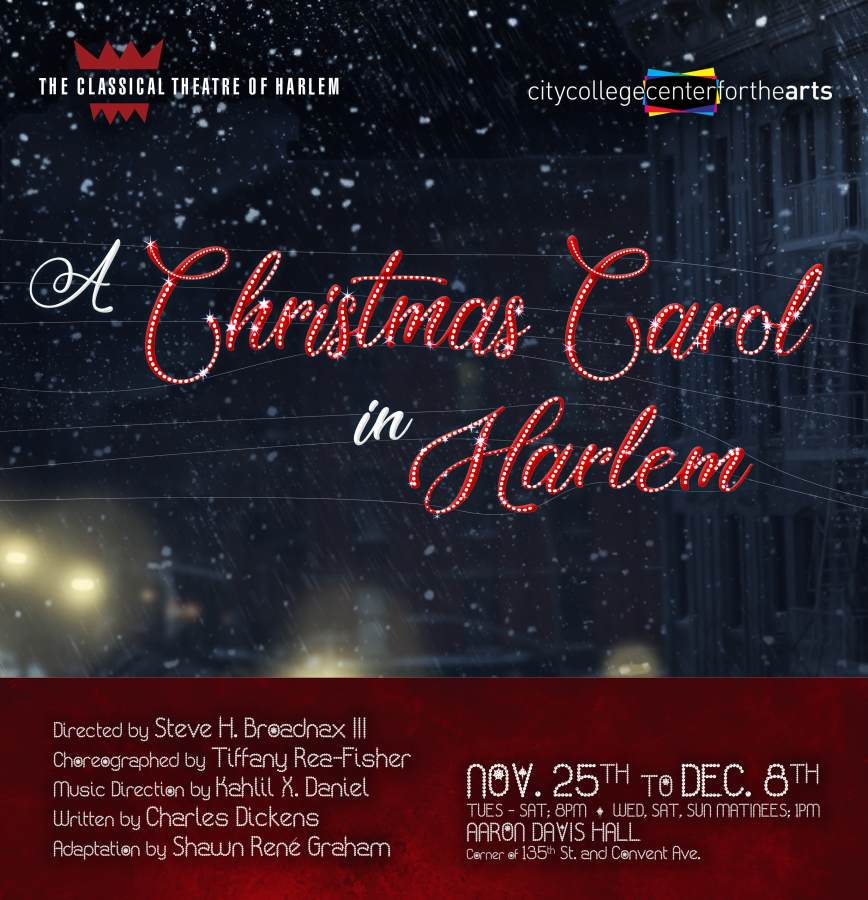 When Was A Christmas Carol Written.A Christmas Carol In Harlem Stagebuddy Com