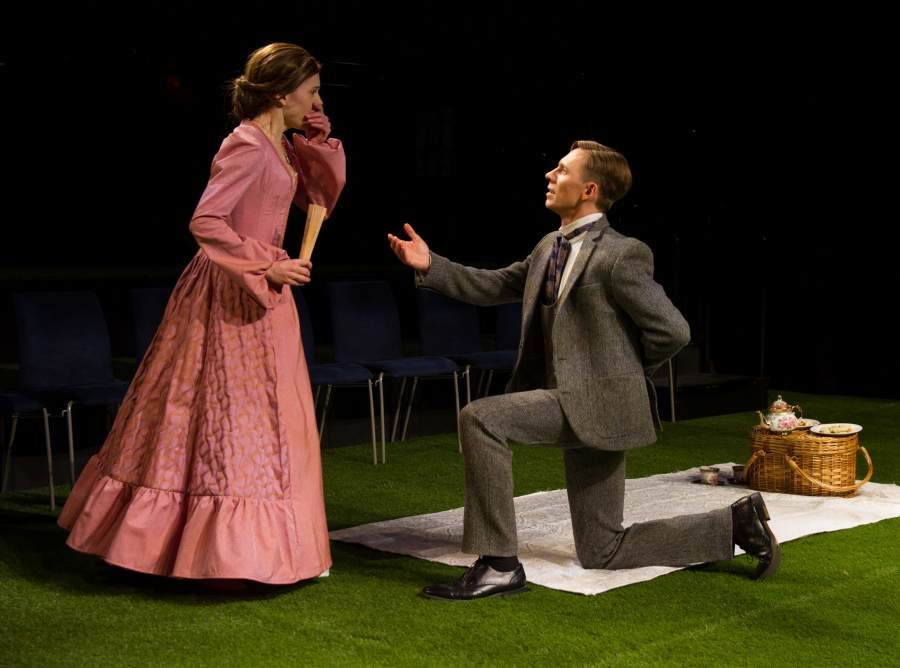 production still from The Importance of Being Earnest NY Classical