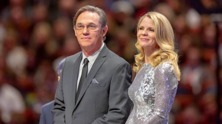 Photo of Richard Thomas and Kelli O'Hara