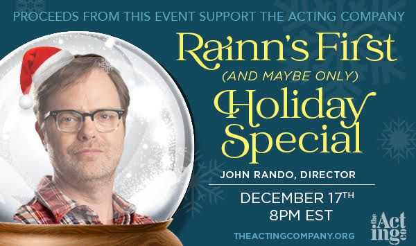 Rainn's First Holiday Special promo image