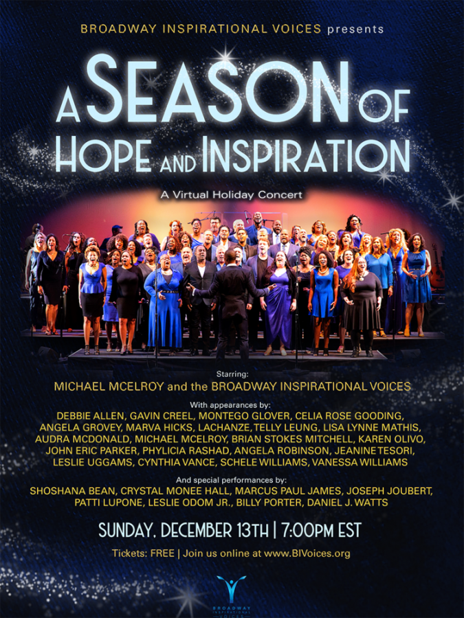 BIV Holiday Concert poster