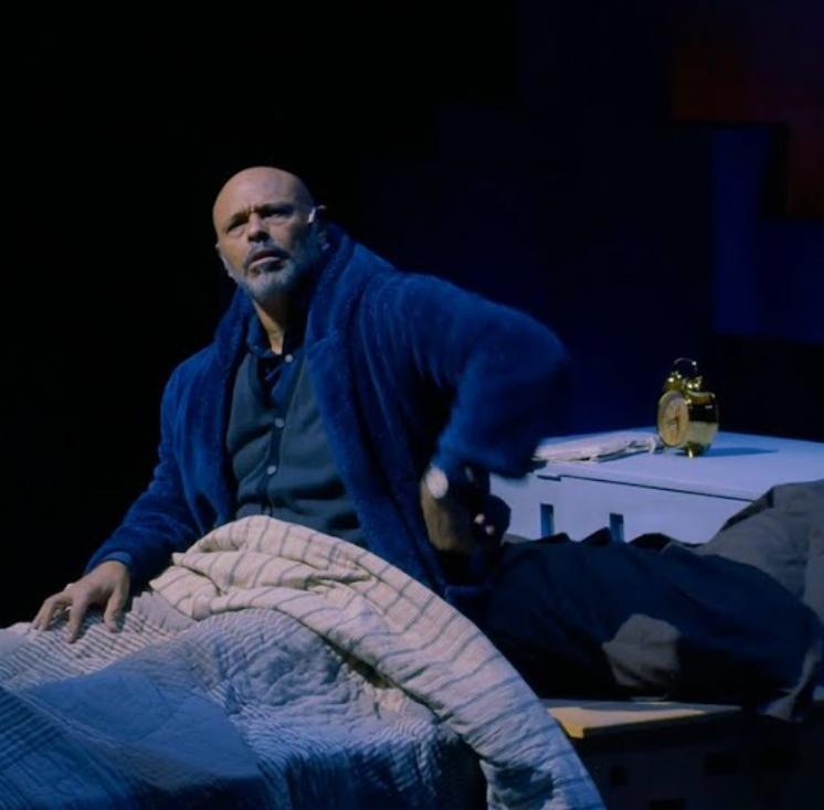 Screenshot of Scrooge from A Christmas Carol in Harlem