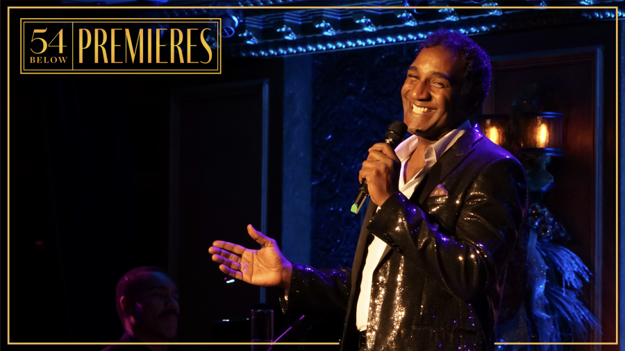 Photo of Norm Lewis performing on stage at 54 Below